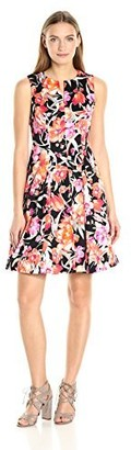 Chetta B Women's Floral Party Dress