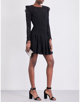 Maje Rylie knitted-lace dress