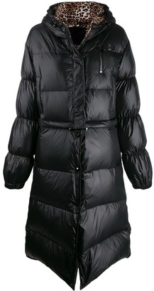 Philipp Plein Flame puffer coat