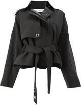 Paco Rabanne cropped trench coat