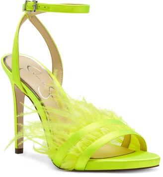 Jessica Simpson Raelin Feather Ankle Strap Sandal