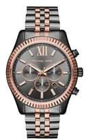 Michael Kors Lexington Two-Tone Stainless Steel Chronograph Bracelet Watch