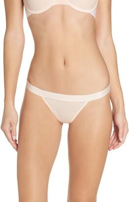 Negative Underwear Sieve Thong