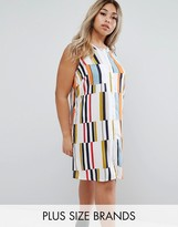 Junarose Color Block Sleeveless Dress