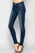 Flying Monkey Tear Drop Skinny Denim