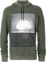 Tom Rebl explosion print hoodie