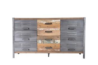 Soundslike HOME Locker Cabinet 6 Doors 4 Drawers
