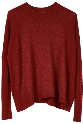 Oyuna Mara Knitted Wool Blend Pullover In Star Red