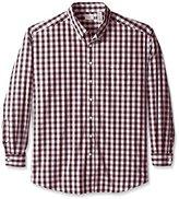 Dockers Big-Tall Long Sleeve Button Down Collar Gingham Shirt