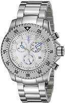 Swiss Legend Men's 10063-22S Sergeant Chronograph Light Dial Stainless Steel Watch