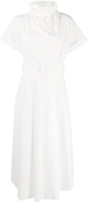 Camilla And Marc Roll Neck Belted Dress