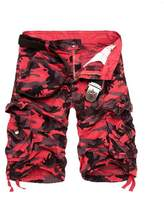 Tonwhar 2015 New Style Fashion Men's Utility Camo Shorts