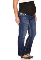 ZCO JEANS Zco Jeans Classic Fit Bootcut Jeans-Plus Maternity