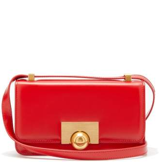 Bottega Veneta Classic Small Leather Shoulder Bag - Womens - Red