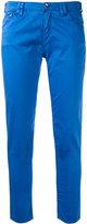 Armani Jeans straight slim fit jeans - women - Cotton/Spandex/Elastane - 27