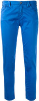 Armani Jeans straight slim fit jeans - women - Cotton/Spandex/Elastane - 28