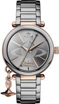 Vivienne Westwood VV067SLTI kensington rose gold-plated and gunmetal stainless steel bracelet
