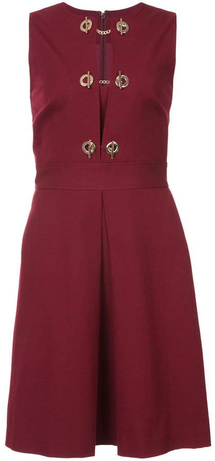 Derek Lam 10 Crosby Sleeveless Dress With Grommet Detail