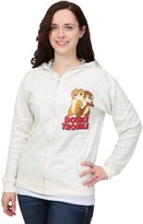 Freeze Chip N Dale Reversible Juniors Hooded Sweatshirt - L
