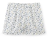 Somewhere Woman's pure cotton shorts with exclusive coral print, HATA