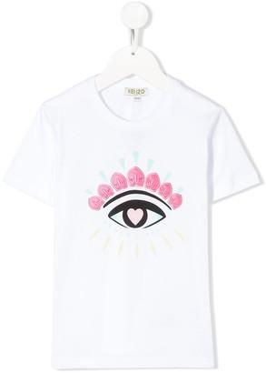 Kenzo Eye print embroidered T-shirt