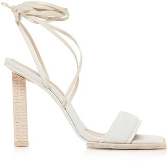 Jacquemus Les Adours Hautes Leather Sandals