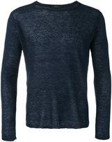 Zanone fine knit jumper - men - Linen/Flax - 50