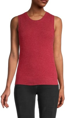 Saks Fifth Avenue Cashmere Shell Top