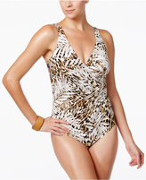 Miraclesuit Safari Printed Tummy-Control One-Piece Swimsuit