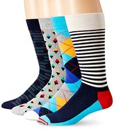 Happy Socks Men's 4 Pack Multi Boxset