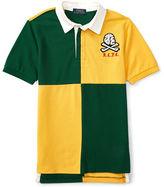 Ralph Lauren Boys 2-7 Checkerboard Rugby T-Shirt