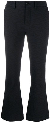 Zadig & Voltaire Cropped-Leg Trousers