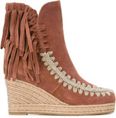 Mou Eskimo boots - women - Leather/Suede/Polyamide/rubber - 36