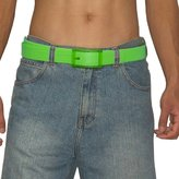 Unisex, Thick, Plastic Belt with Matching Detachable Buckle