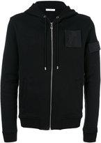 Versace Medusa patch zipped hoodie - men - Cotton - M