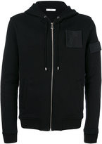 Versace Medusa patch zipped hoodie - men - Cotton - S
