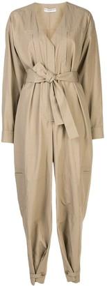 Givenchy multi-pocket belted jumpsuit