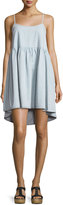 The Great The Terrace Sleeveless A-Line Dress, Light Tint