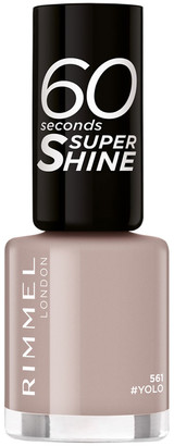Rimmel 60 Seconds Super-Shine Nail Polish 8Ml 561 Yolo