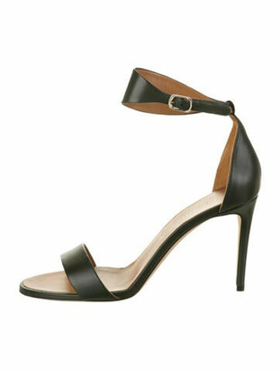 Victoria Beckham Leather Sandals w/ Tags Green