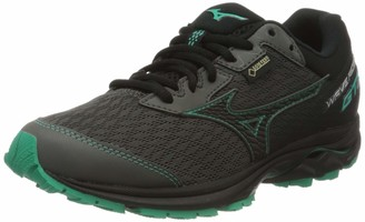 Mizuno Wave Rider Gtx Neutralschuh Damen - Schwarz Mint Womens Running shoes neutral shoe