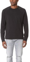Theory Ronney Alcove Terry Crew Sweatshirt