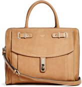 GUESS Kingsley Bordeaux Satchel