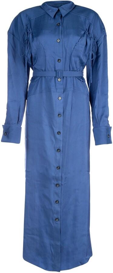 Jacquemus Belted Shirt Dress
