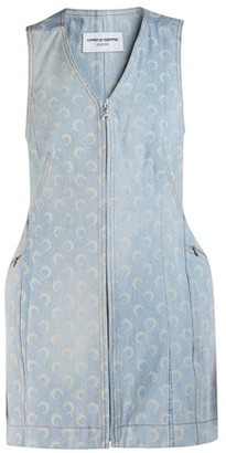 Marine Serre Denim dress