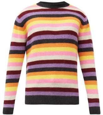 The Elder Statesman Striped Cashmere Sweater - Multi