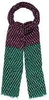 Diane von Furstenberg Printed Wool & Silk Scarf