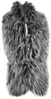 J. Furmani Women's Designer Collection Winter Stole Scarf - Black Scarves