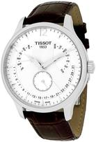 Tissot T0636371603700 Men's Tradition Brown Leather Watch