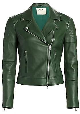 L'Agence Women's Ryder Leather Moto Jacket